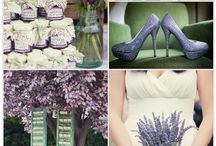 Lilac/purple themed party