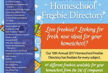 FREEBIE Directories / Homeschool and homeschooling directory of freebies.