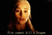 Fire cannot kill the dragon.