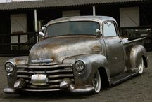 cool custom pick-up / by 7seven customs