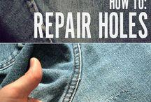 how to repair holes