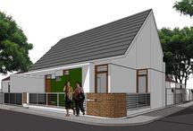 E Residence / Programmatic : Housing Location : Bandung, Indonesia Years : 2016   gubah ruang #gubahruang  www.gubahruang.com