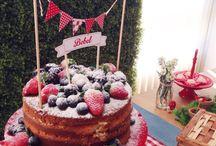 Decorações de festa de aniversário