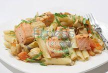 Fitness recepty - cestoviny / Zdravé a chutné fitness recepty pre všetkých, ktorí sa chcú stravovať zdravo