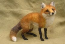 felted animals / by Nancy Wilkins