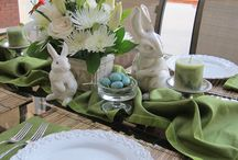 Table scapes easter