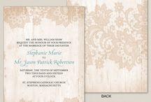 Wedding invitations / by Ruby Rodriguez