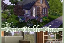 The Sims 3 - Pear Pickle Place / Download Link - http://www.thesims3.com/assetDetail.html?assetId=7300871