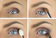 Hår och makeup