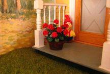 Miniatures fleurs Géranium