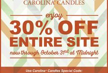 Carolina Candle Sale