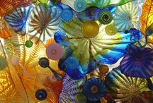 The Dave Chihuly Board / Beautiful glass masterpieces....