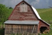barns / vintage rustic charming barns
