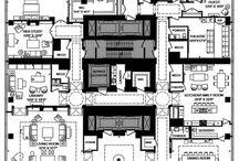 Minecraft house layout
