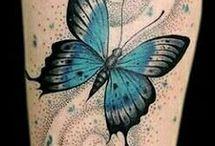 Tatuerade fjärilar