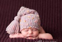 Knitting beanie