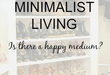 The bare necessities--minimalist living