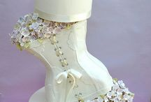 corset whimsy cake
