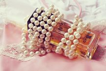 Pearls and rhinestones