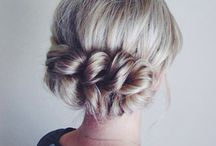 / bridal hair / / Inspiration and how-tos for gorgeous wedding hair