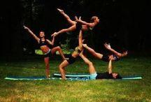 dance, gymnastics and cheer