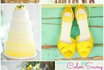 Mint Green Styles / Using mint green with another color for your wedding