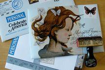 collage enveloppes