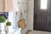entry way mud room