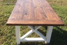 Rustic table..