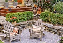 small backyard layout