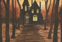 strašidelné domky