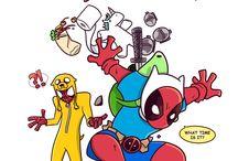 Spidey y Deadpool