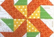 patchwork / textil minták