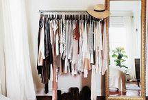 Colgador ropa pared