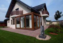 Ogród zimowy - Modlniczka / Ogrody zimowe, oranżerie , werandy przeszklenia, wintergarden, conservatory  .  www.alpinadesign.pl