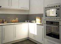 Xifré | Proyecto reforma de cocina / Renders 3D para reforma de cocina en calle Xifré de Barcelona