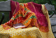 Kantha, throws and bedspreads