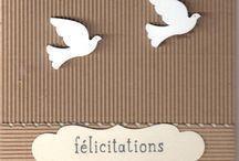 Cartes Félicitations - Congratulations cards