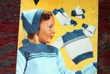 Gamle strikkeplagg til barn
