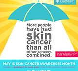 Be #SkinSmart / Did you know that more people have been diagnosed with skin cancer than all other cancers combined? Shocking, right? Well, May is Skin Cancer Awareness Month and we are raising our #skinsmart flag and we're raising it high. See more at: www.coolibar.com/skinsmart / by Coolibar