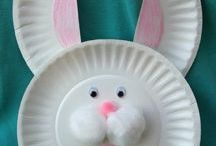 Easter crafts for the kids / by Maggie Minor Kerns