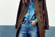 Coats trench style