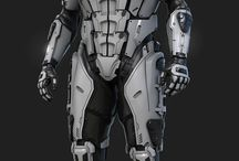 mech suit / armor