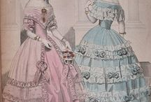 1840s - fashion plates
