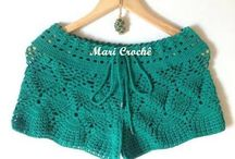 Crochê - Shorts