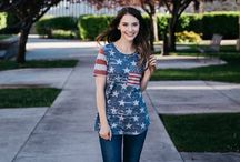 4th of July Apparel / 4th of July Apparel, clothing, and ideas. An online and adorable Ladies fashion boutique. #Ladiesfashion, #ladiesaccessories, #ladiesfashionboutique, #onlineboutique,  #ladiesdatenight, #datenightoutfits, #ladiesoutfits, #ladiesapparel, #floraltees, #softeverydayfloraltee, #freeshipping, #dresses