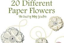 SU - Paper Flowers