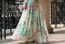 muslim fashion summer skirt