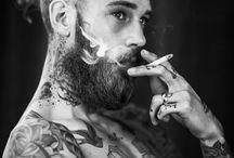 tattoos & beards