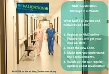 NMC Nurse revalidation - what it means for you / A pictoral guide to NMC revalidation for nurses at QE Gateshead